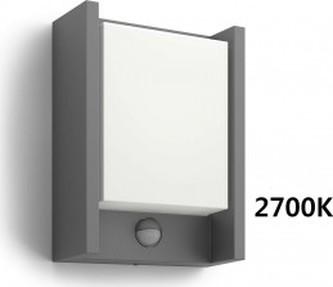 VENKOVNÍ NÁSTĚNNÉ LED SVÍTIDLO S ČIDLEM 16461/93/16 2700K
