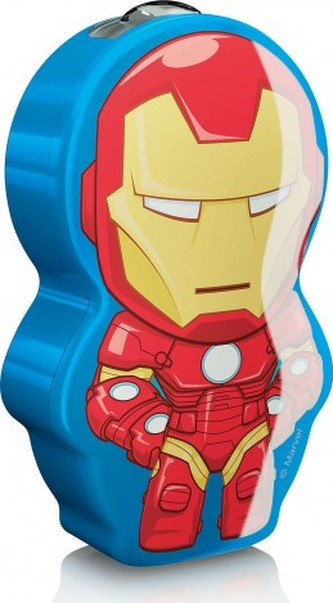 DĚTSKÁ LED BATERKA Marvel Iron Man 71767/35/16 - Philips