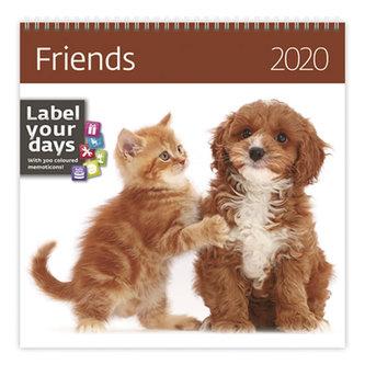 Kalendář nástěnný 2020 - Friends