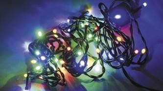 SVĚTELNÝ INTERIÉROVÝ LED ŘETĚZ multicolor, 3,9m