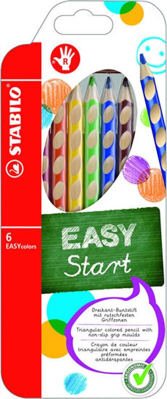 Stabilo - STABILO EASYcolors pravák - sada 6 ks