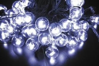 SVĚTELNÝ ŘETĚZ LED 120 LED STUDENÁ