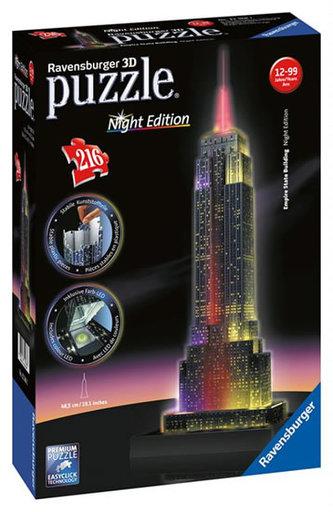 Ravensburger - Empire State Building- Noční edice 3D 216d