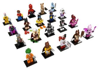 LEGO Minifigurky 71017 Batman MOVIES 1 serie - LEGO
