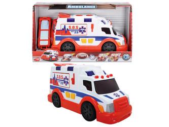 Dickie - AS Ambulance 33cm, světlo, zvuk