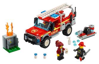 LEGO City 60231 Zásahový vůz velitelky hasičů