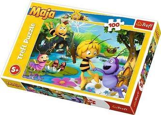 Trefl - Puzzle Včelka Mája s přáteli 100 dílků 41x27,5cm v krabici 29x19x4cm