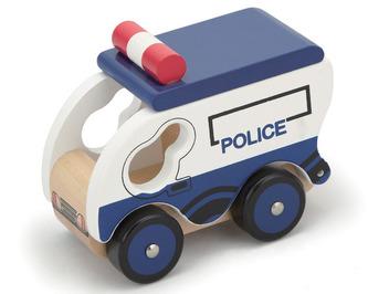 Policejní vůz dřevěný - Studo Wood
