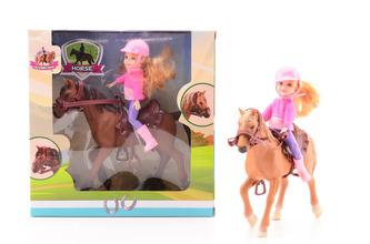 Koník s jezdkyní - Johntoy