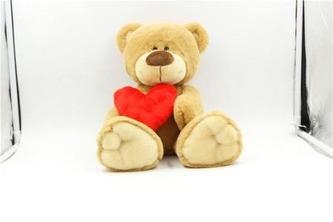 Plyšové zvířátko Medvídek se srdcem 25 cm - EP Line