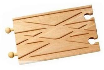 Dvoukolej rovná 15cm - Studo Wood