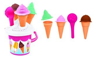 Pískový set výroba zmrzliny