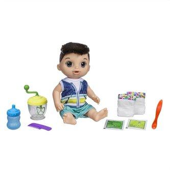 Baby Alive Tmavovlasý chlapec s mixérem - Hasbro Baby Alive