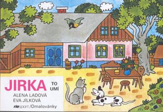 Jirka to umí - omalovánka - Alena Ladová