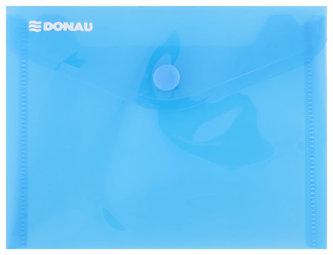Obálka s drukem průhledná A6 PP, modrá - Donau