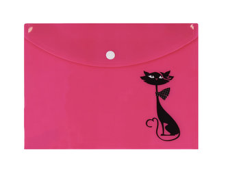 Happy Spirit - Pouzdro na dokumenty A4: Kočka