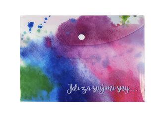 Happy Spirit - Pouzdro na dokumenty A5: Jdi za svými sny