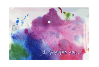 Happy Spirit - Pouzdro na dokumenty A4: Jdi za svými sny