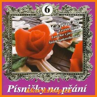Písničky na přání 6 (výběr lidovek) - CD - Akordshop