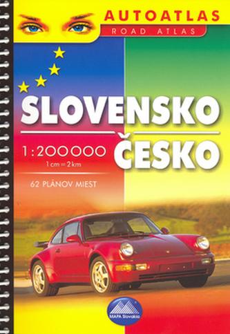 Slovensko Česko 1 : 200 000