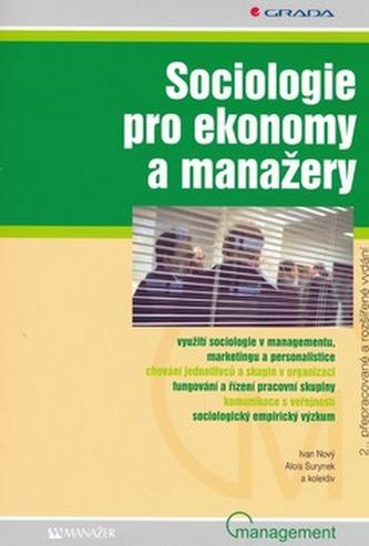 Sociologie pro ekonomy a manažery - Náhled učebnice