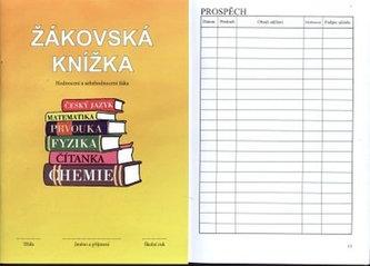 Žákovská knížka pro 1. a 2. stupeň ZŠ (žlutá)