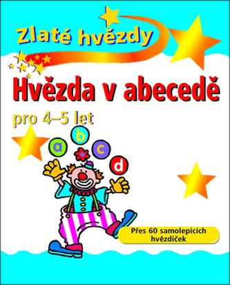 Hvězda v abecedě pro 4 - 5 let