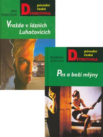Balíček 2ks Pes a boží mlýny + Vražda v lázních Luhačovice
