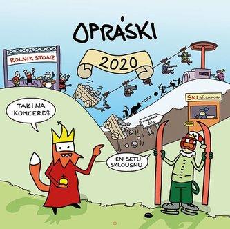 Grada - Opráski - nástěnný kalendář 2020