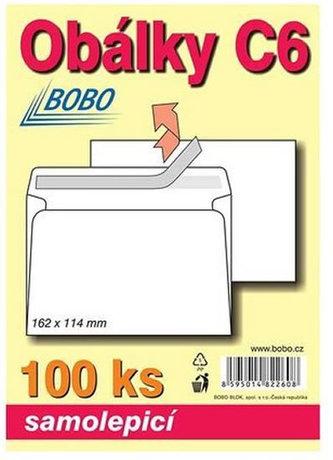 BOBO BLOK - Obálky C6 samolepicí (bal. 100ks)
