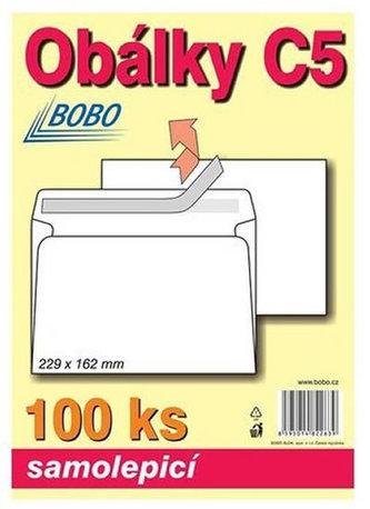 BOBO BLOK - Obálky C5 samolepicí (bal. 100ks)