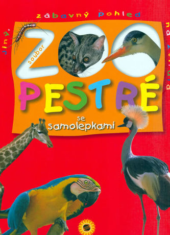 Zoo pestré se samolepkami