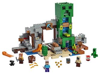 LEGO - LEGO Minecraft 21155 Creepův důl