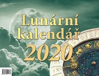 Lunární kalendář - stolní kalendář 2020 - Lucia Jesenská
