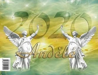 Andělé 2020 - stolní kalendář - Jitka Saniová