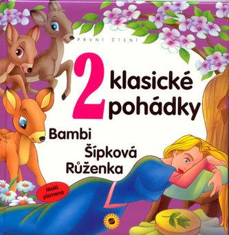 2 Klasické pohádky Bambi Šípková Růženka