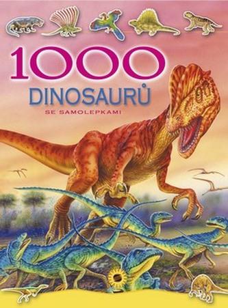 1000 dinosarů se samolepkami