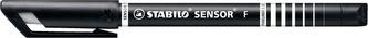 STABILO SENSOR F černá