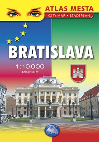 Bratislava, atlas mesta 1 : 10000
