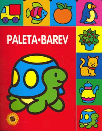 Paleta barev Želvička - omalovánka