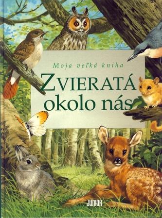Zvieratá okolo nás - Moja veľká kniha
