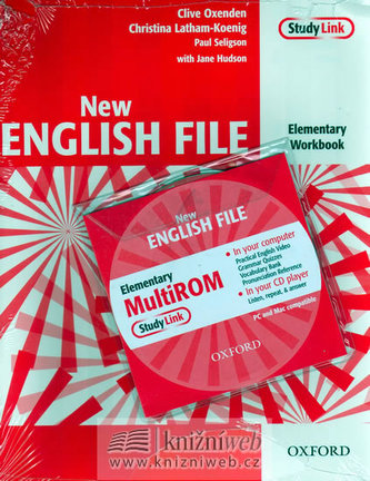 New English file elementary Workbook Key + CD ROM pack - Clive Oxenden; Christina Latham-Koenig