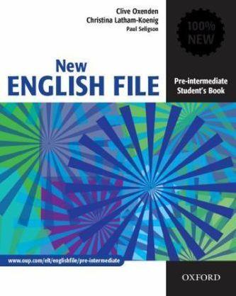 New English File Pre-intermediate Student´s Book - Oxenden Clive