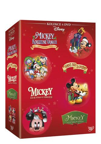 Magic Box - Vánoční Mickey kolekce 4DVD