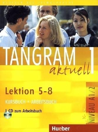 Kursbuch + Arbeitsbuch, Lektion 5-8, m. Audio-CD zum Arbeitsbuch