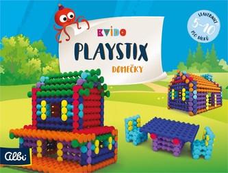 Kvído - Stavebnice Playstix - domečky 150 dílků