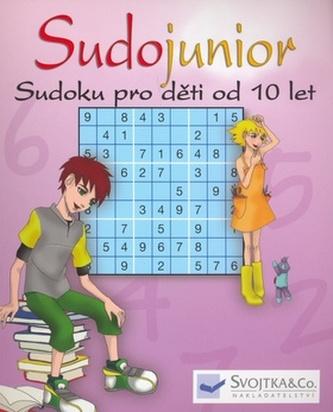Sudojunior Sudoku pro děti od 10 let