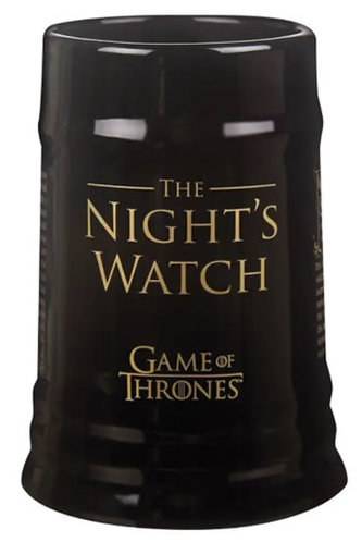 Keramický korbel Game of Thrones - Night´s Watch