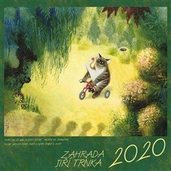 Kalendář 2020 - Zahrada - nástěnný - Trnka Jiří
