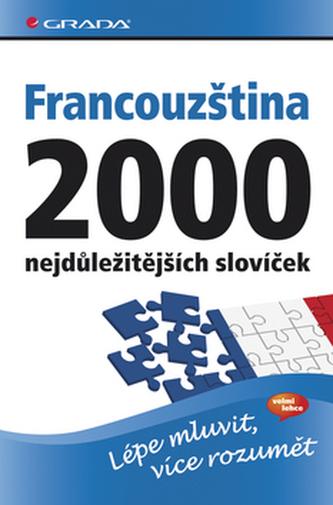 Francouzština 2000 nejdůležitějších slovíček